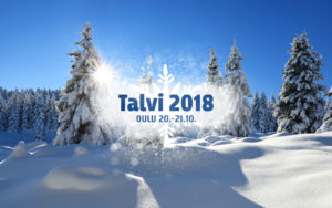 Talvi 2018 Ouluhallissa 20.-21.10.