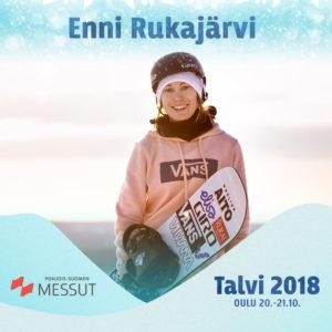 Enni Rukajärvi Talvi 2018 -tapahtumassa