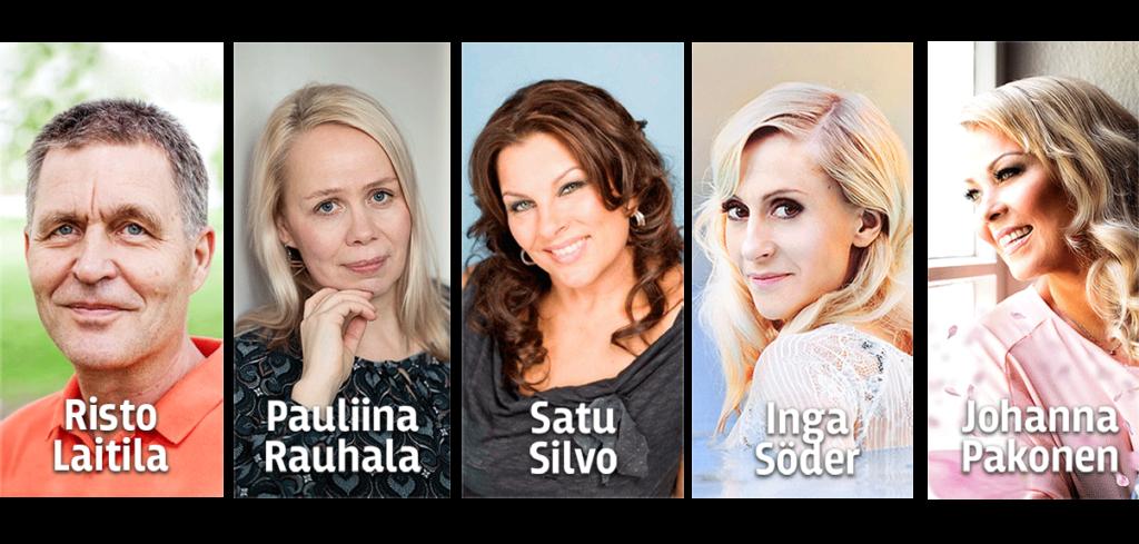 Elä & Nauti 50+ Oulu esiintyjät messuilla