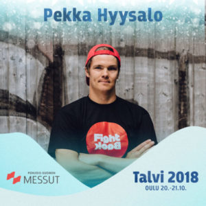 Pekka Hyysalo Talvi 2018 -tapahtumassa