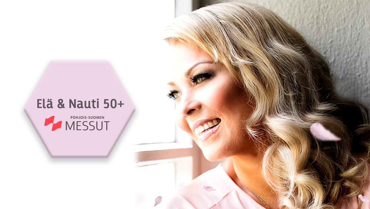 Johanna Pakonen Elä & Nauti 50+ Oulu