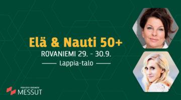 Elä & Nauti Rovaniemi messut 29.-30.9.2018 Lappia-talolla