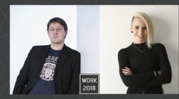 WORK 2018 Tom Laine ja Riikka Annika Keskitalo